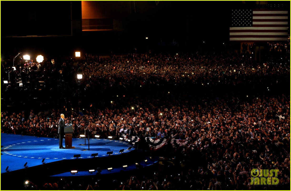 watch barack obama victory speech for election 2012 16
