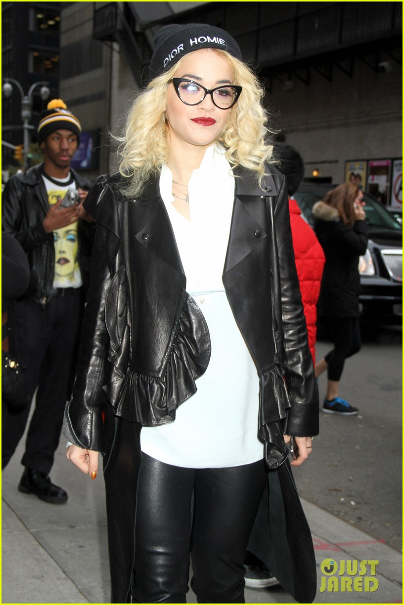 rita ora late show david letterman guest 04