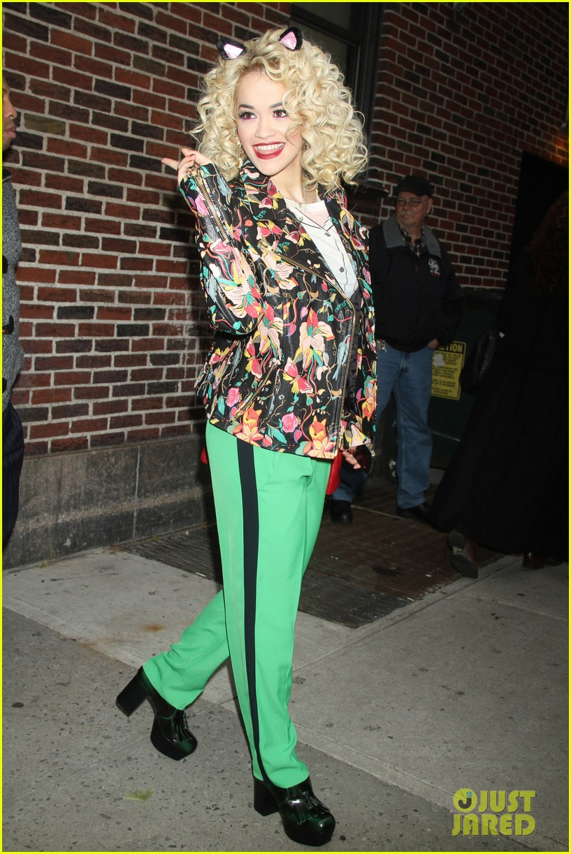 rita ora late show david letterman guest 05