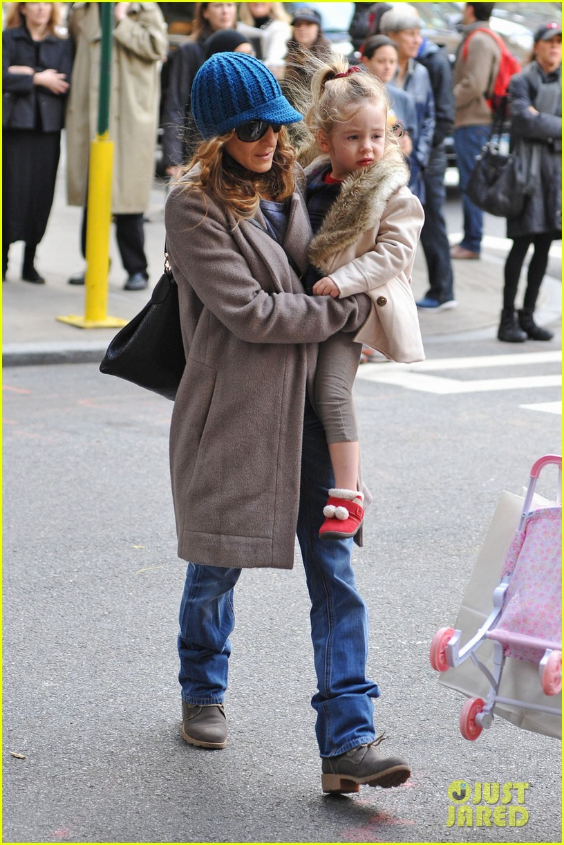 sarah jessica parker matthew broderick lunch with twins 032750845