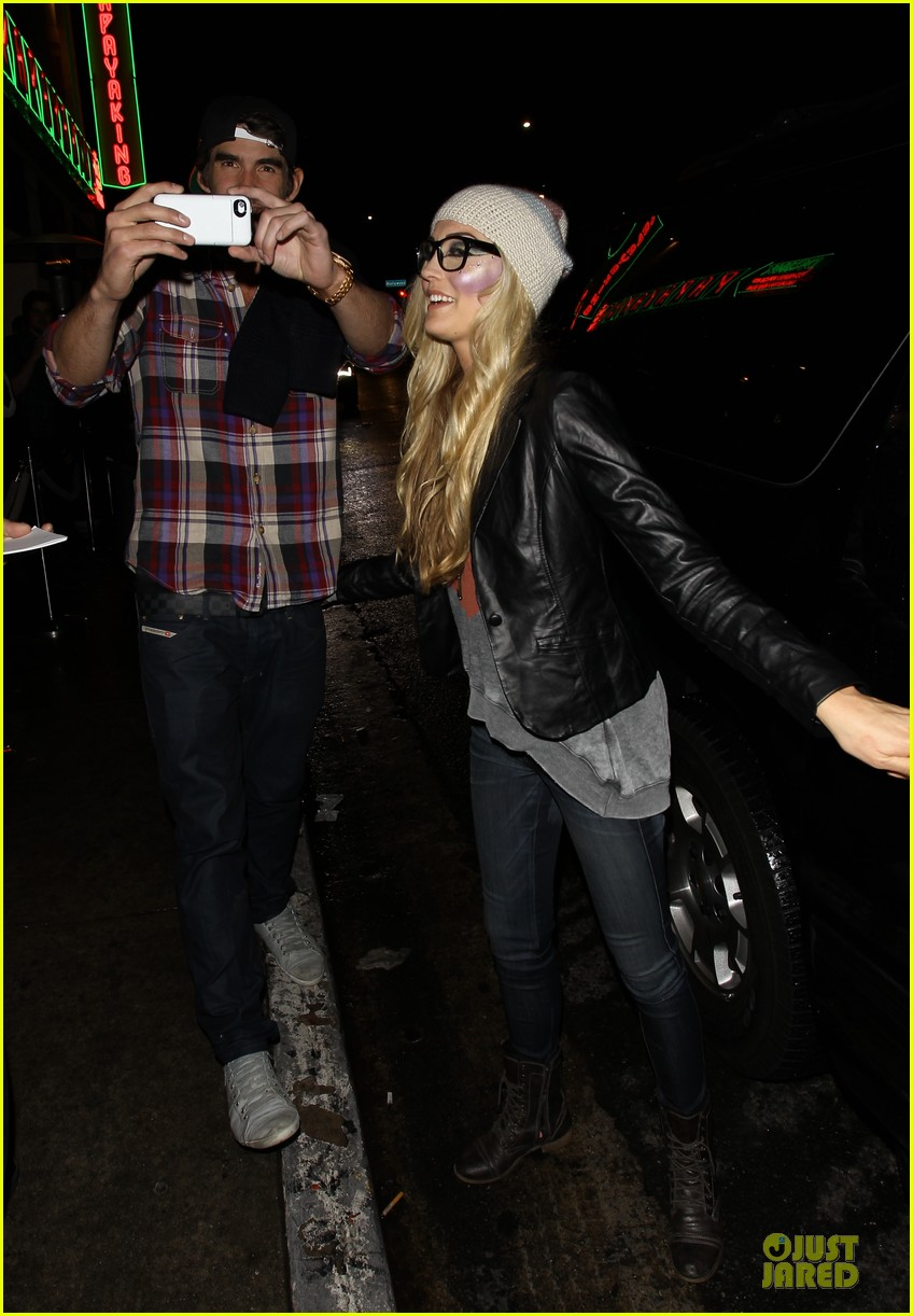 michael phelps megan rossee sayers club date 102759493