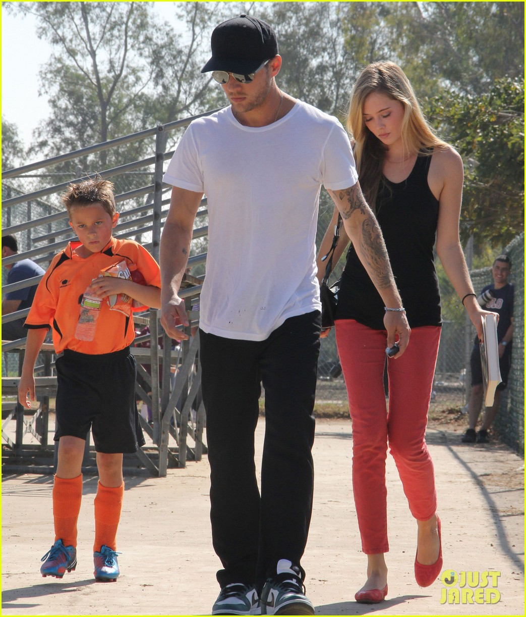 ryan phillippe deacons soccer game with paulina slagter 032750487