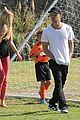 ryan phillippe deacons soccer game with paulina slagter 10