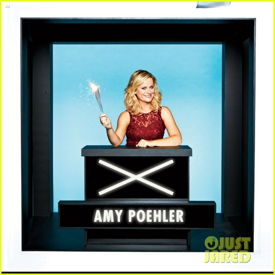 amy poehler hollywood squares with parks rec cast 03