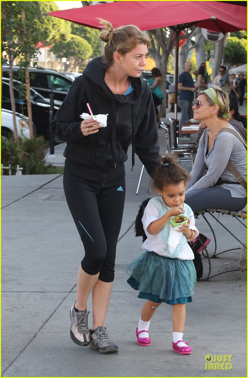 ellen pompeo stella ice cream duo 06