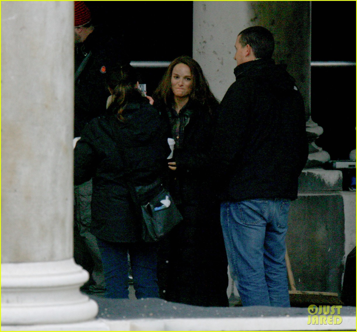 Natalie Portman: 'Thor: The Dark World' Set!