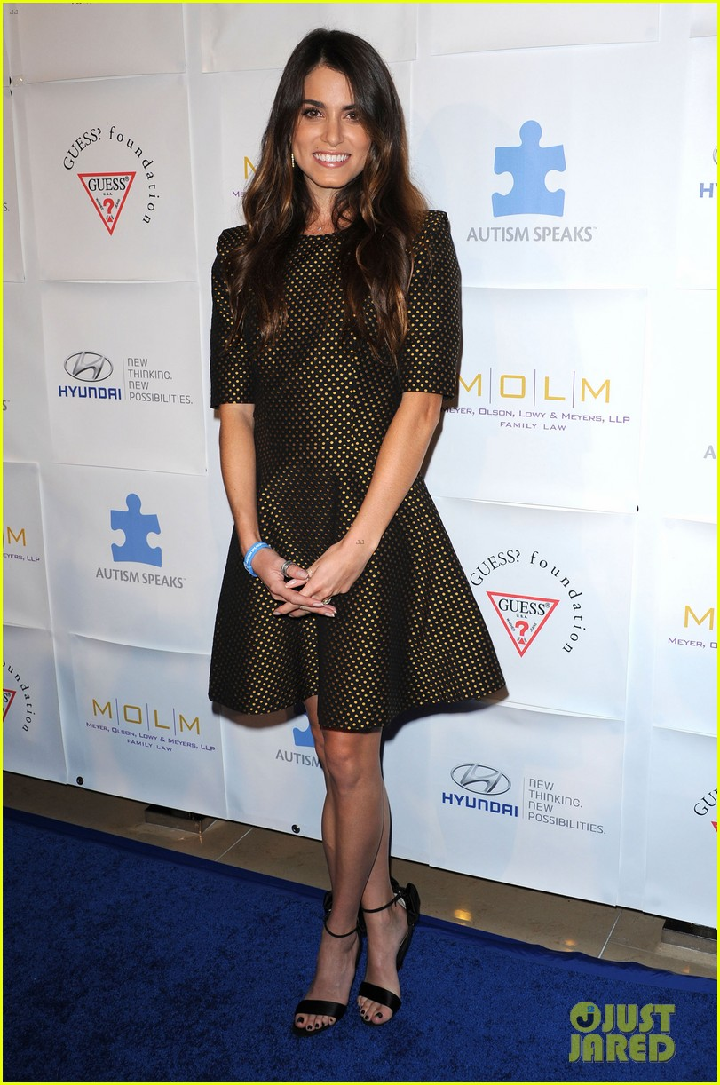nikki reed paul mcdonald autism speaks ball 01