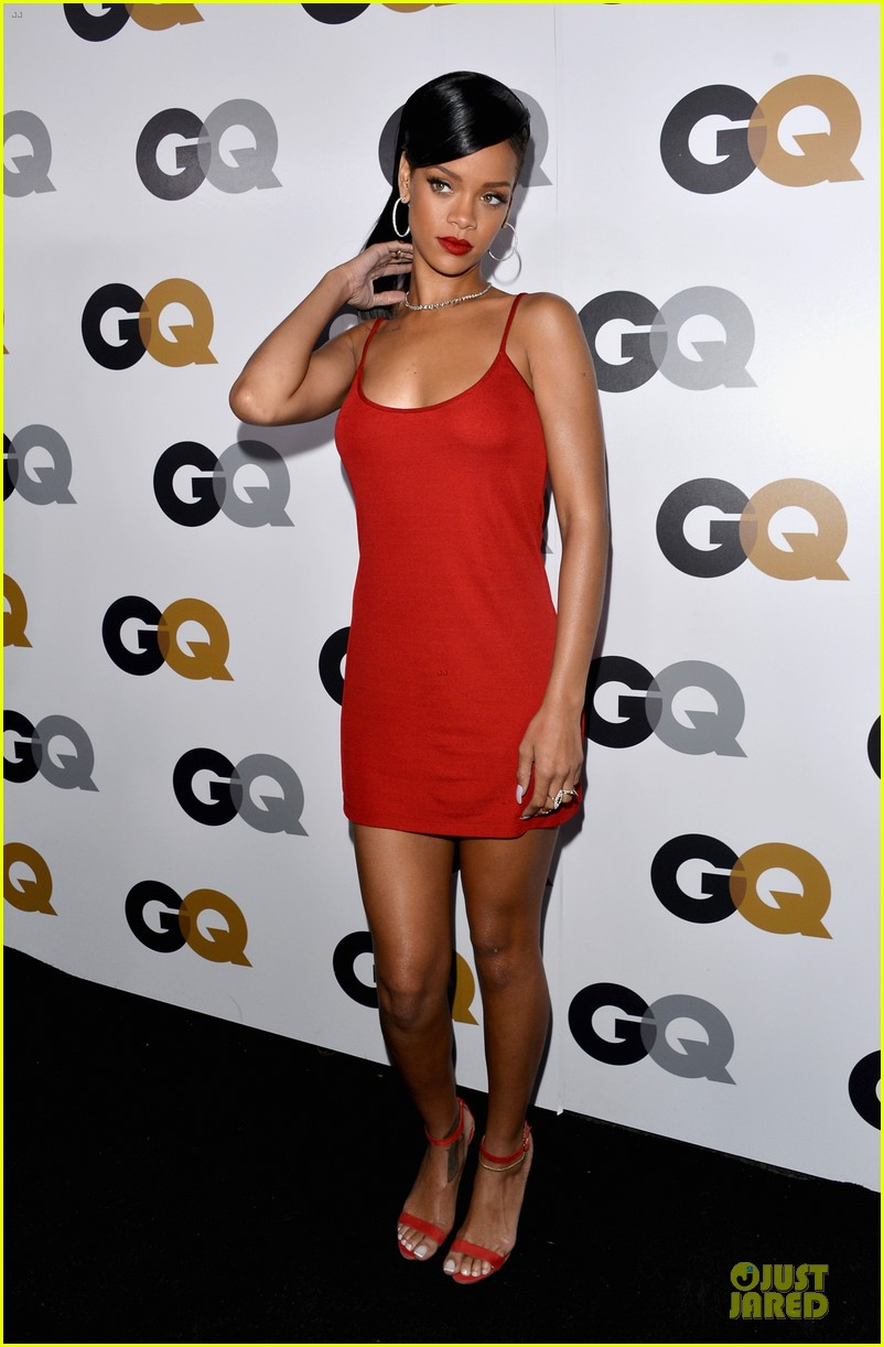 rihanna gq man of the year party 03