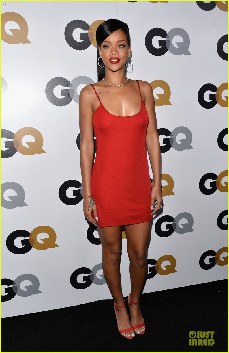rihanna gq man of the year party 10