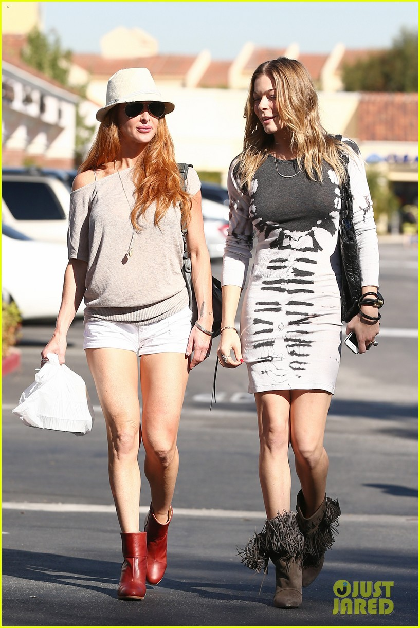leann rimes riviera restaurant with liz 11