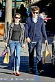 emma roberts evan peters black friday shopping couple 01