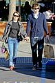 emma roberts evan peters black friday shopping couple 12