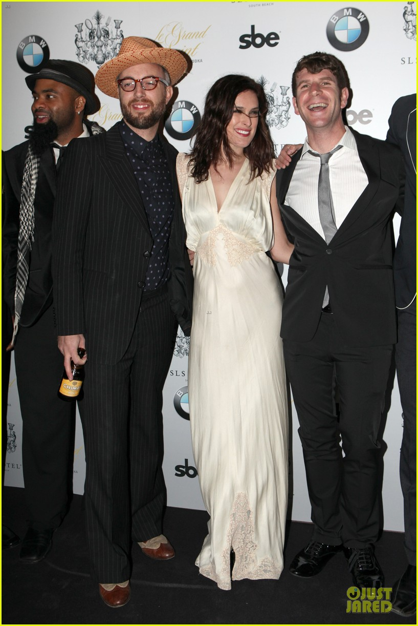 rumer willis sls hotel south beach grand opening 012754430