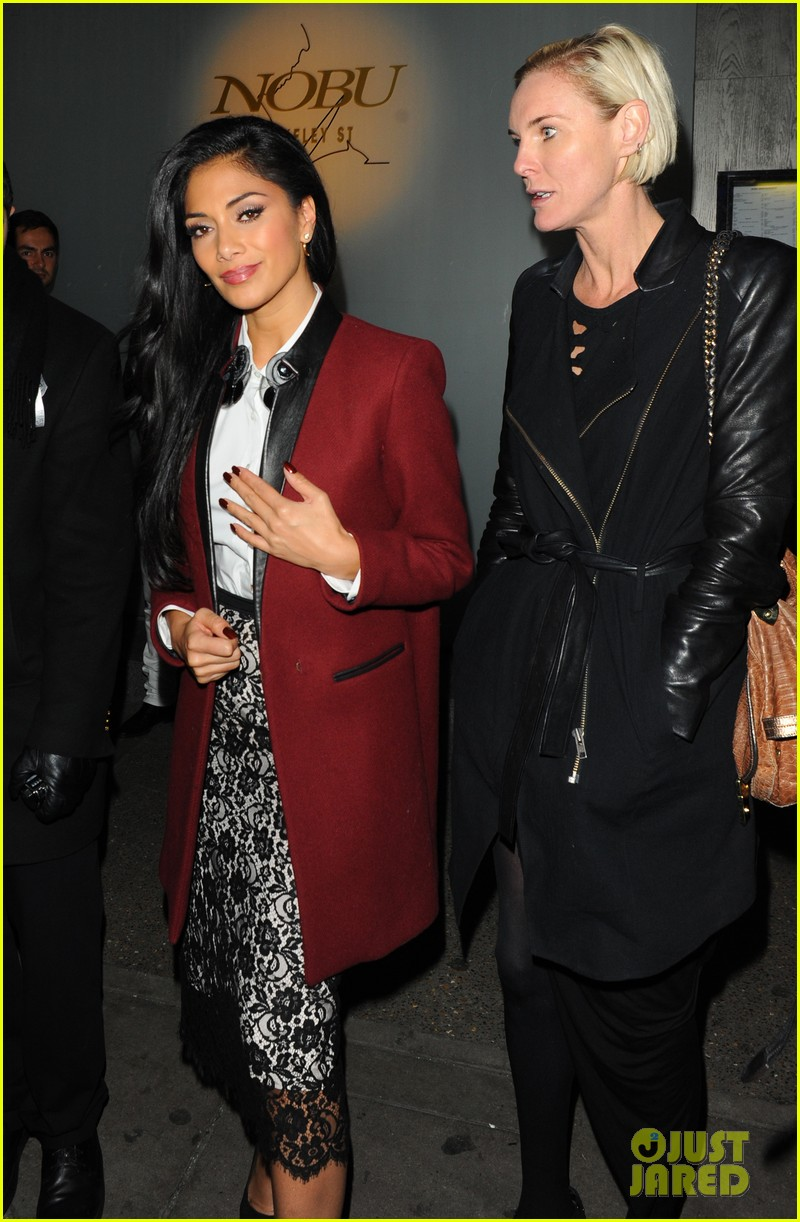 nicole scherzinger night out at nobu 032750965