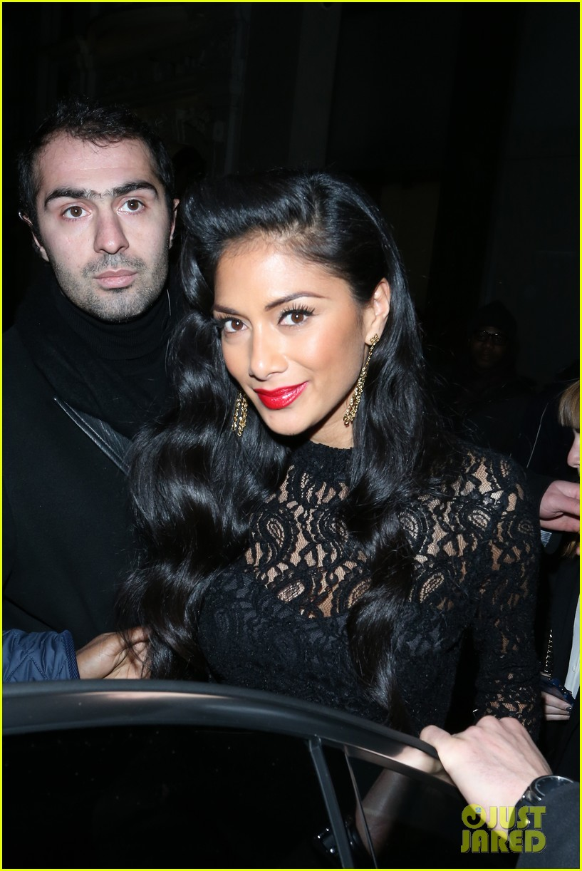 nicole scherzinger nobu night out 07