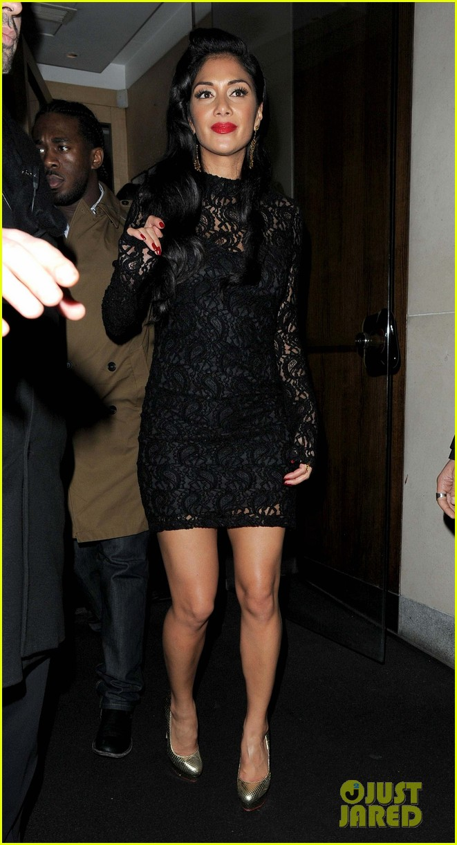 nicole scherzinger nobu night out 10