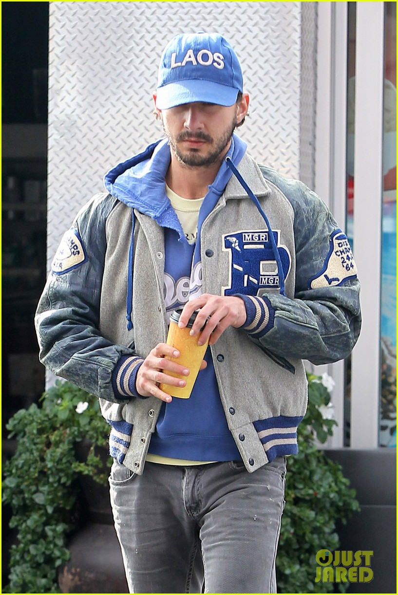 shia labeouf cutoff short shorts in hollywood 022765320