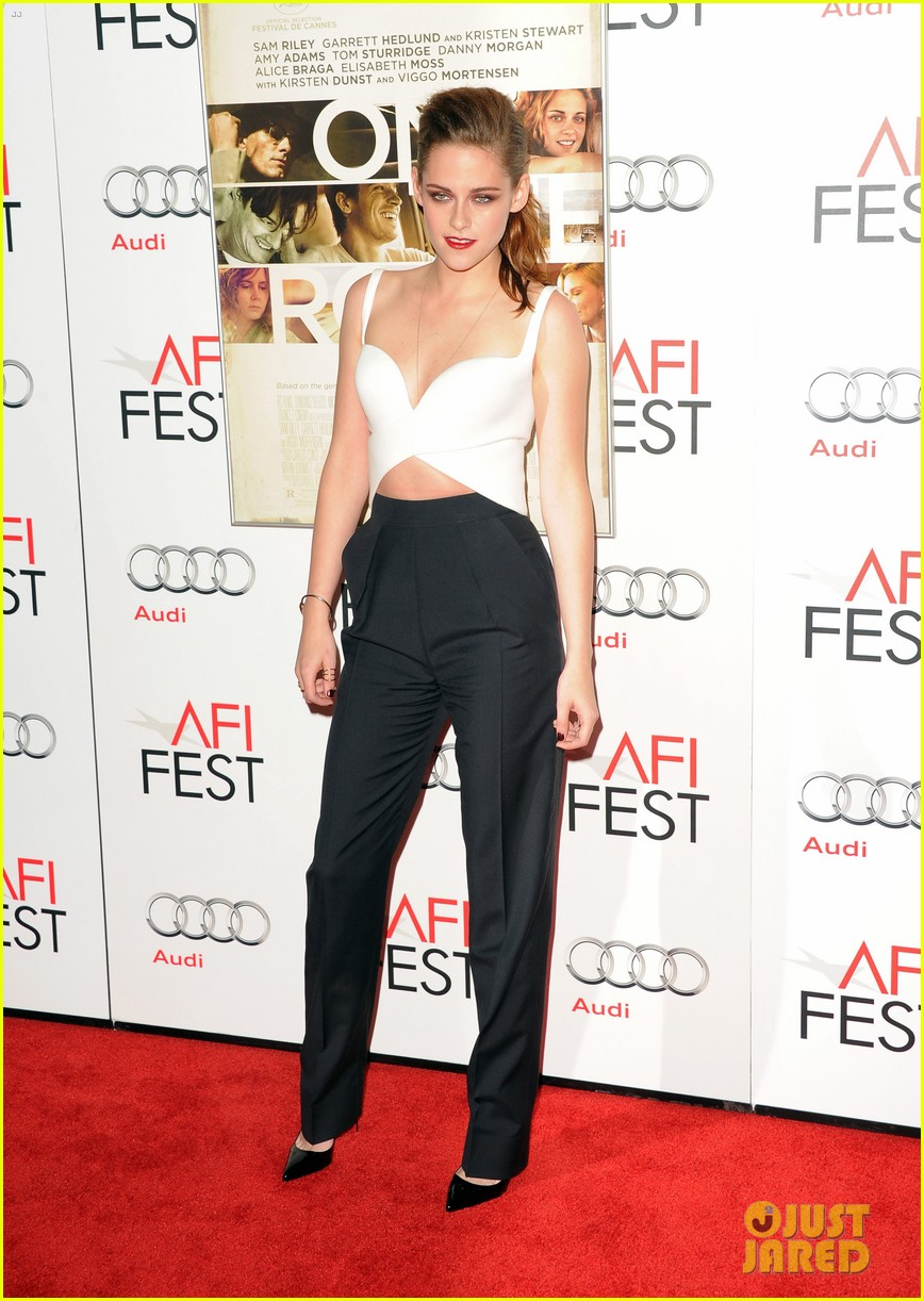 kristen stewart on the road afi screening 01