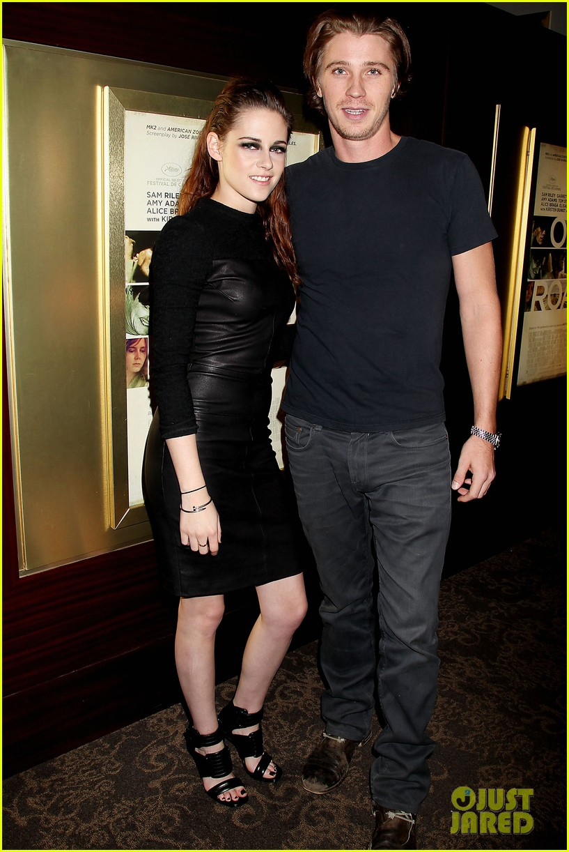 kristen stewart garrett hedlund on the road nyc screening 032753790