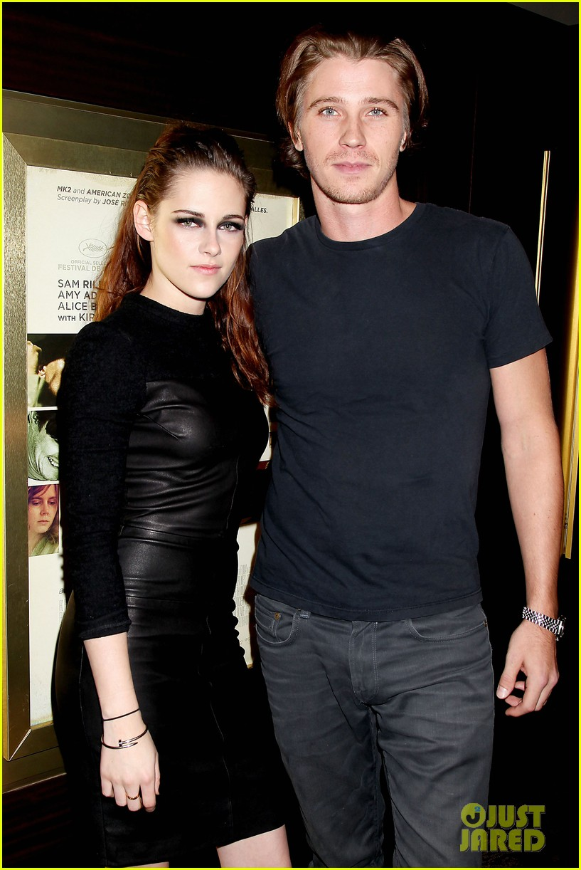 kristen stewart garrett hedlund on the road nyc screening 152753802