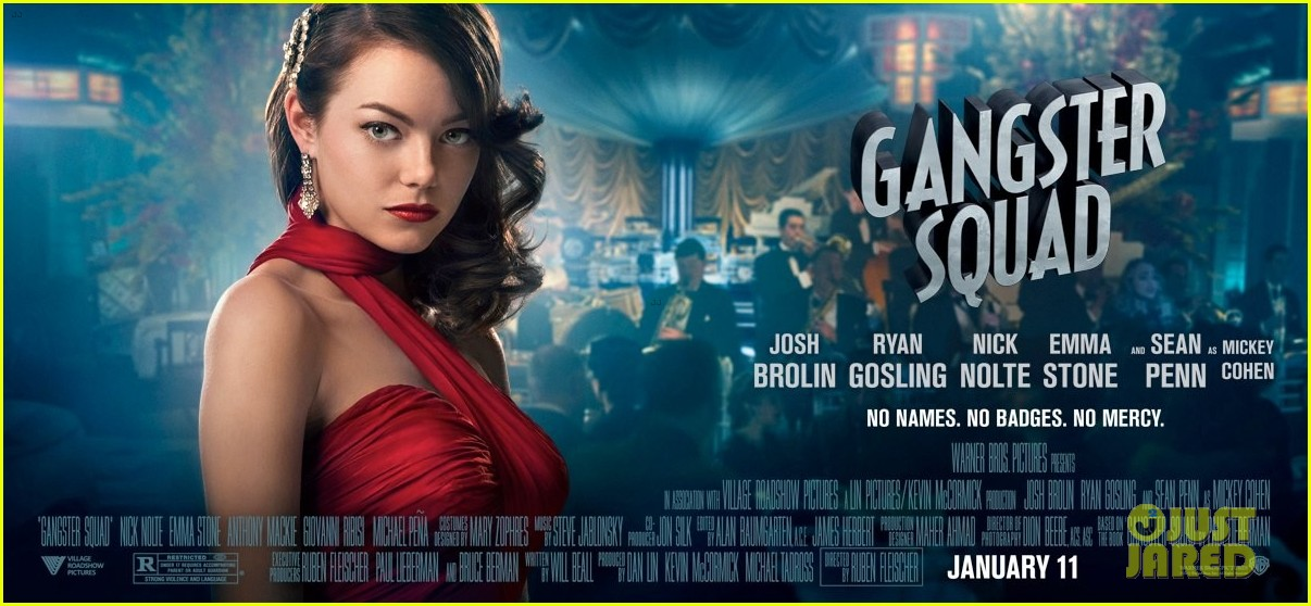 emma stone new movie 43 gangster squad posters 02
