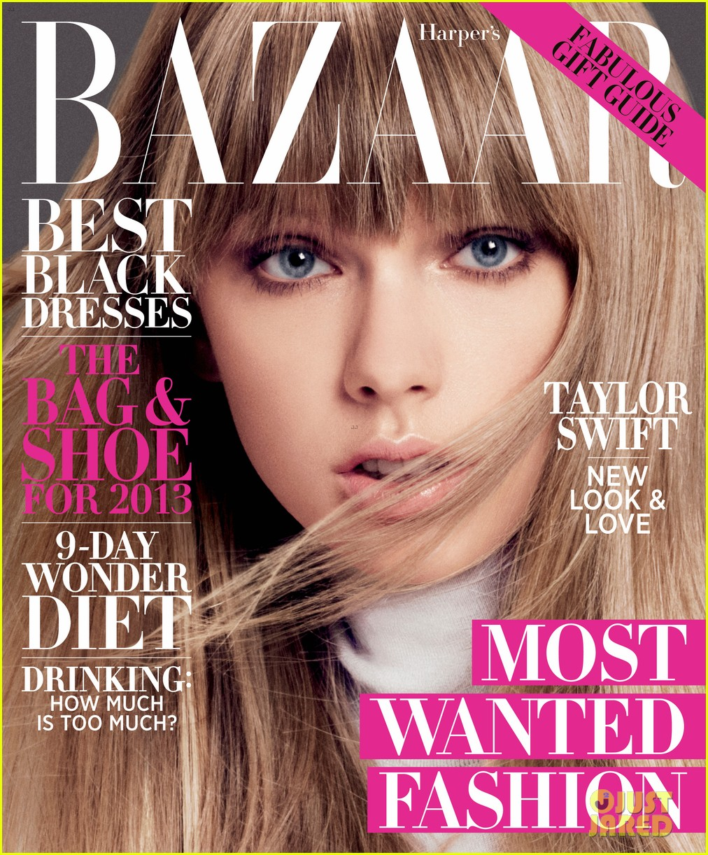 taylor swift covers harpers bazaar 032756027