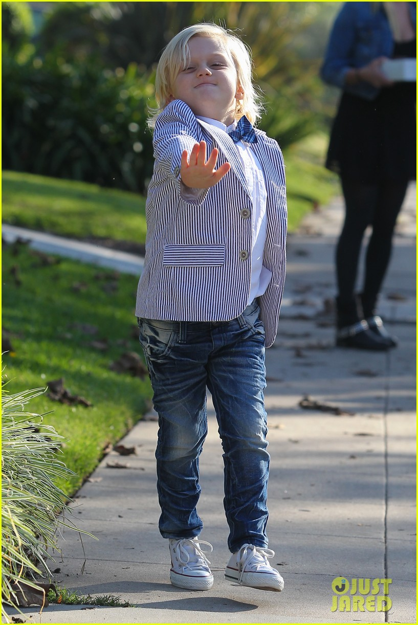 gwen stefani thanksgiving family 02