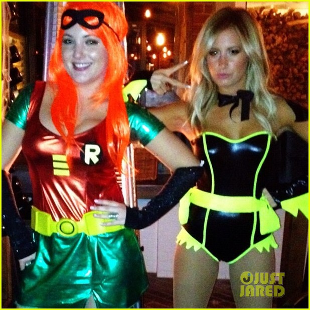 ashley tisdale batman for halloween 04
