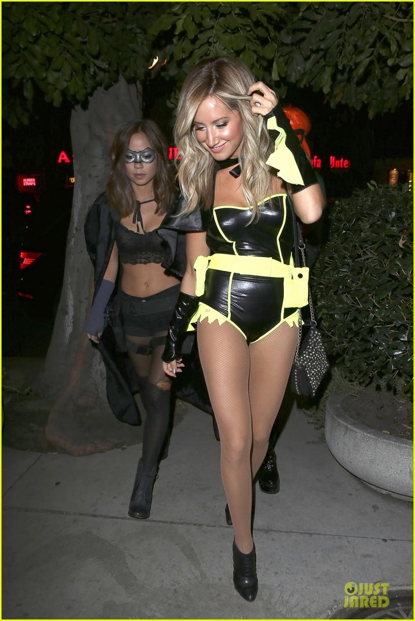 ashley tisdale batman for halloween photo 2749281 ashley tisdale pictures just jared - Ashley Tisdale Halloween