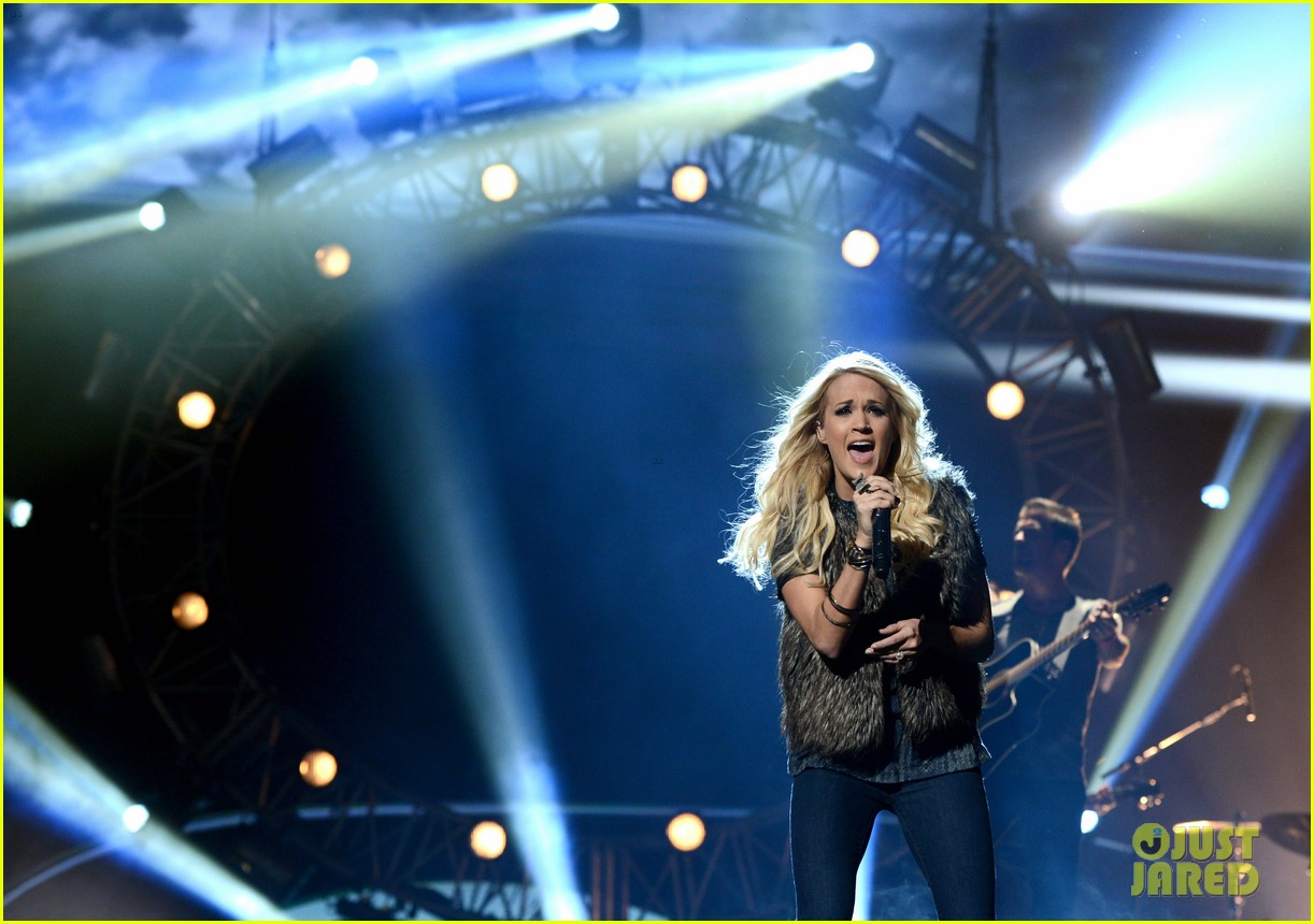 carrie underwood amas rehearsals 2012 10
