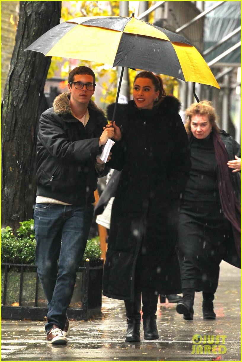 sofia vergara fading gigolo filming 03
