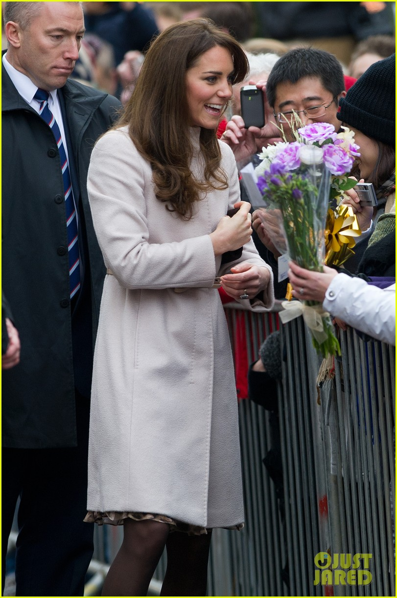 prince william duchess kate cambridge senate house visit 10