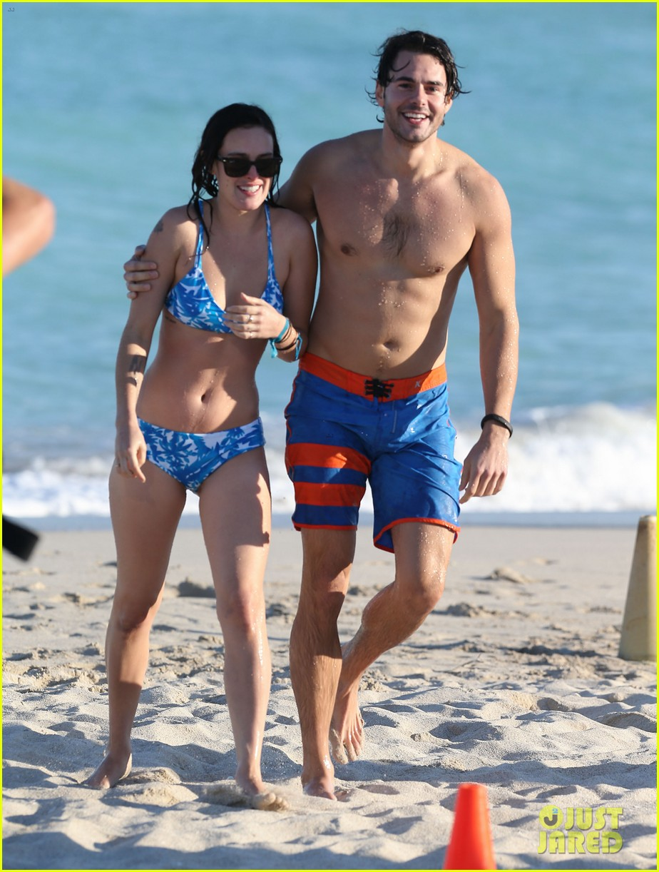 rumer willis jayson blair miami beach besos 242753731
