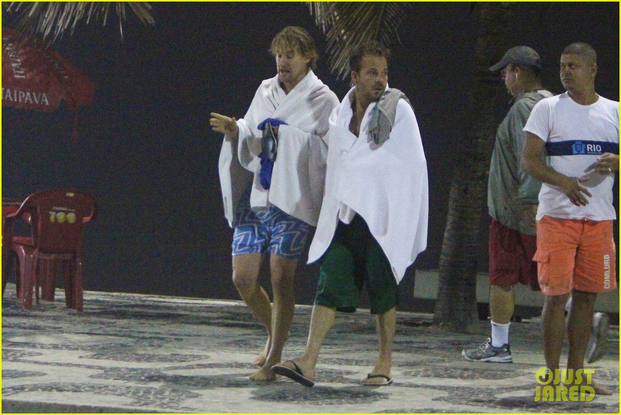 owen wilson stephen dorff shirtless beach buddies 252766648