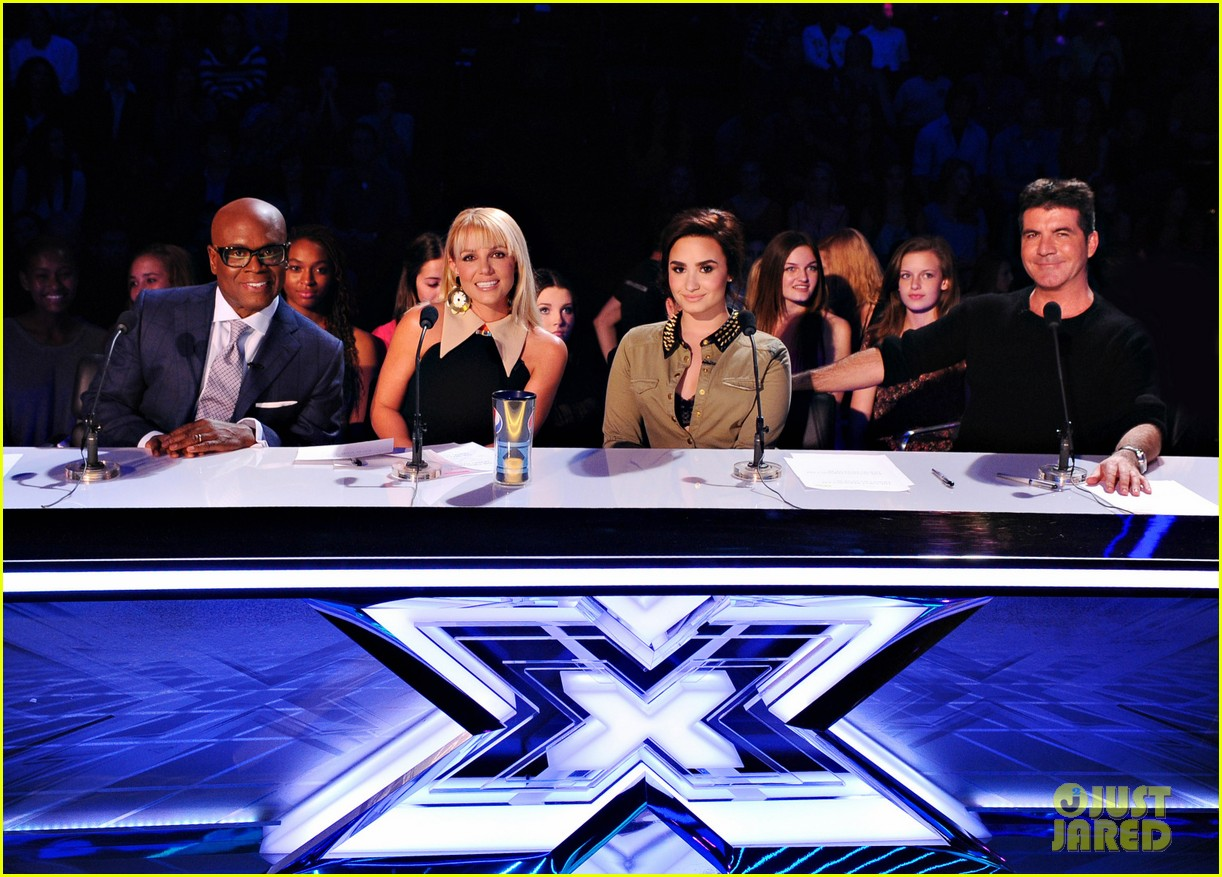 britney spears demi lovato x factor top 16 recap 15