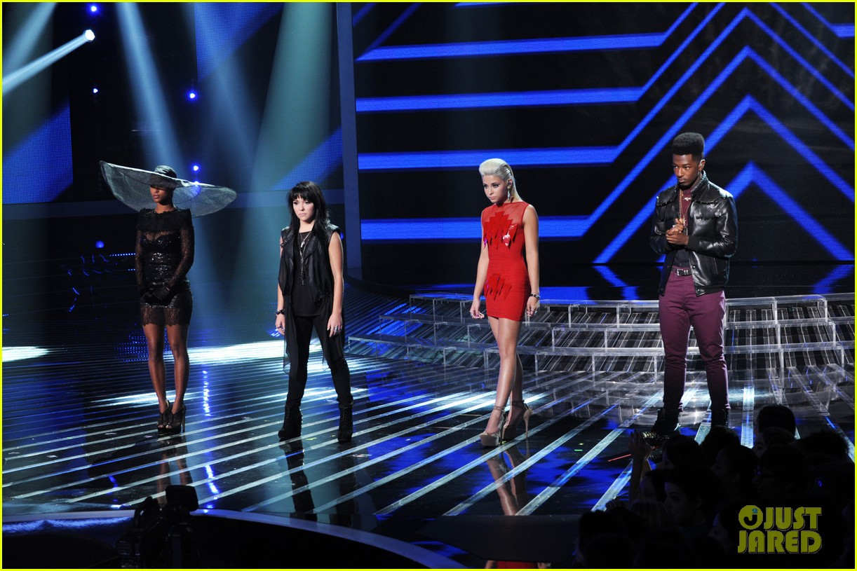 britney spears demi lovato x factor top 16 recap 24