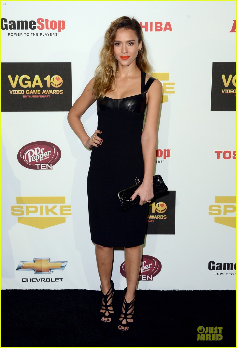 jessica alba spike tv video game awards 16