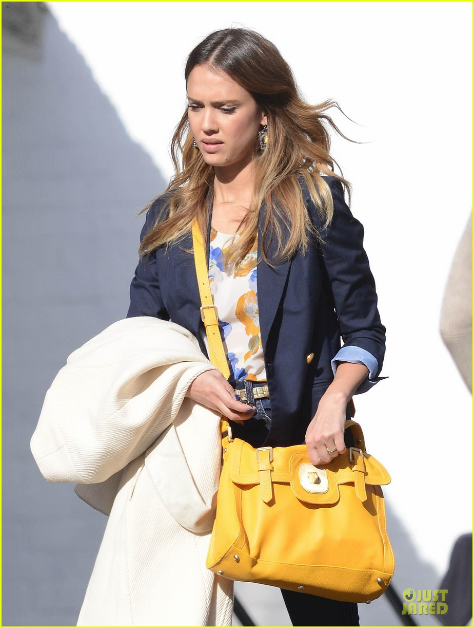 jessica alba hollywood film studio stop 142778219