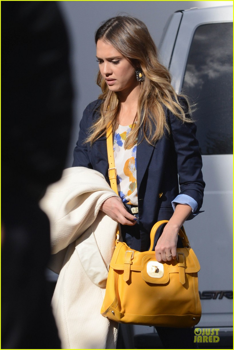 jessica alba hollywood film studio stop 202778225