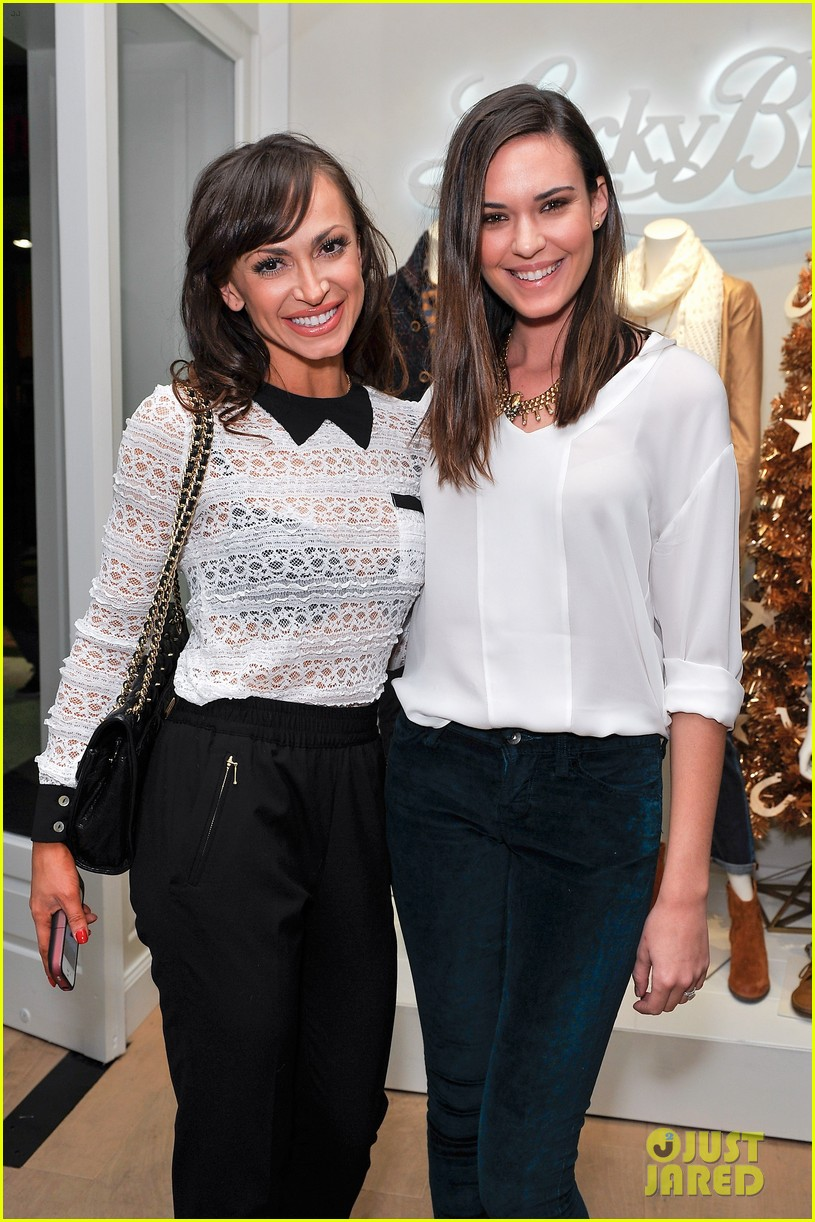 dave annable lucky brand store opening with odette 01