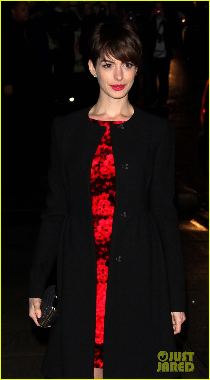 anne hathaway les miserables new york premiere 182773273