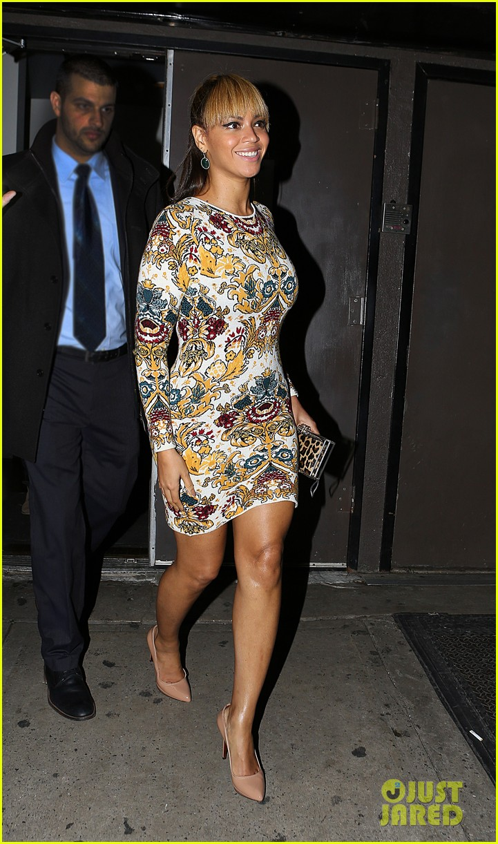 beyonce supports sister solange at concert kick off in nyc 05