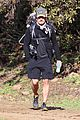 orlando bloom runyon canyon hike with flynn 01