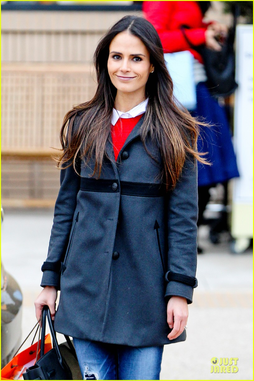 jordana brewster holiday shopping at barneys new york 02