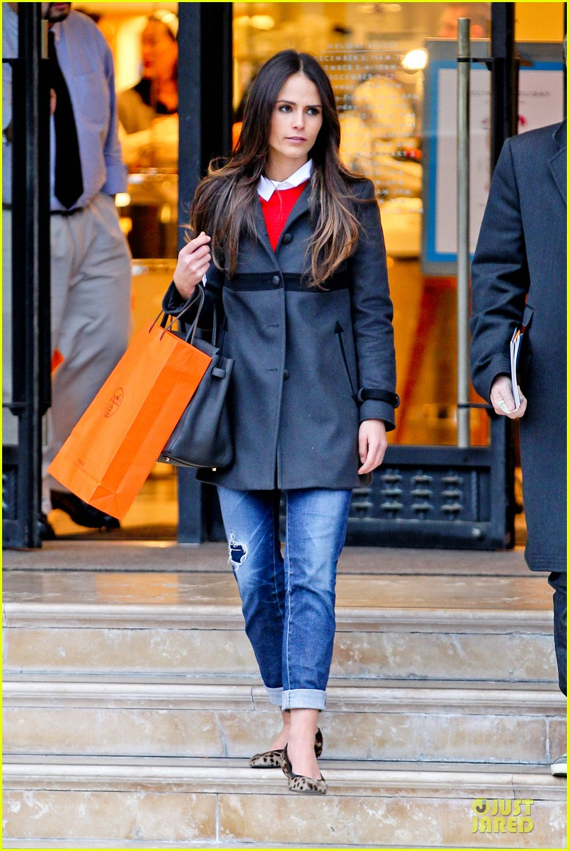 jordana brewster holiday shopping at barneys new york 03