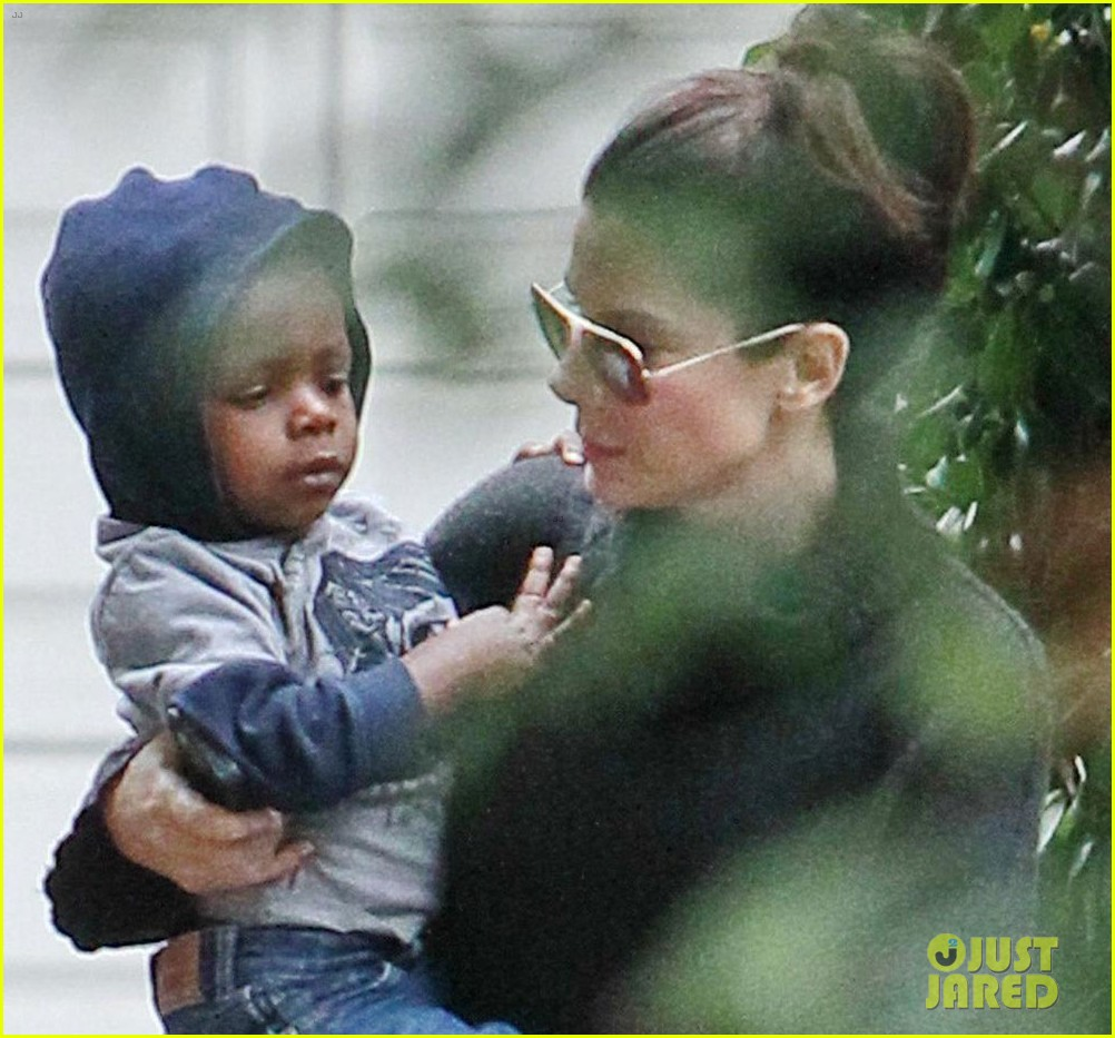 sanda bullock rainy day baby louis 022768006