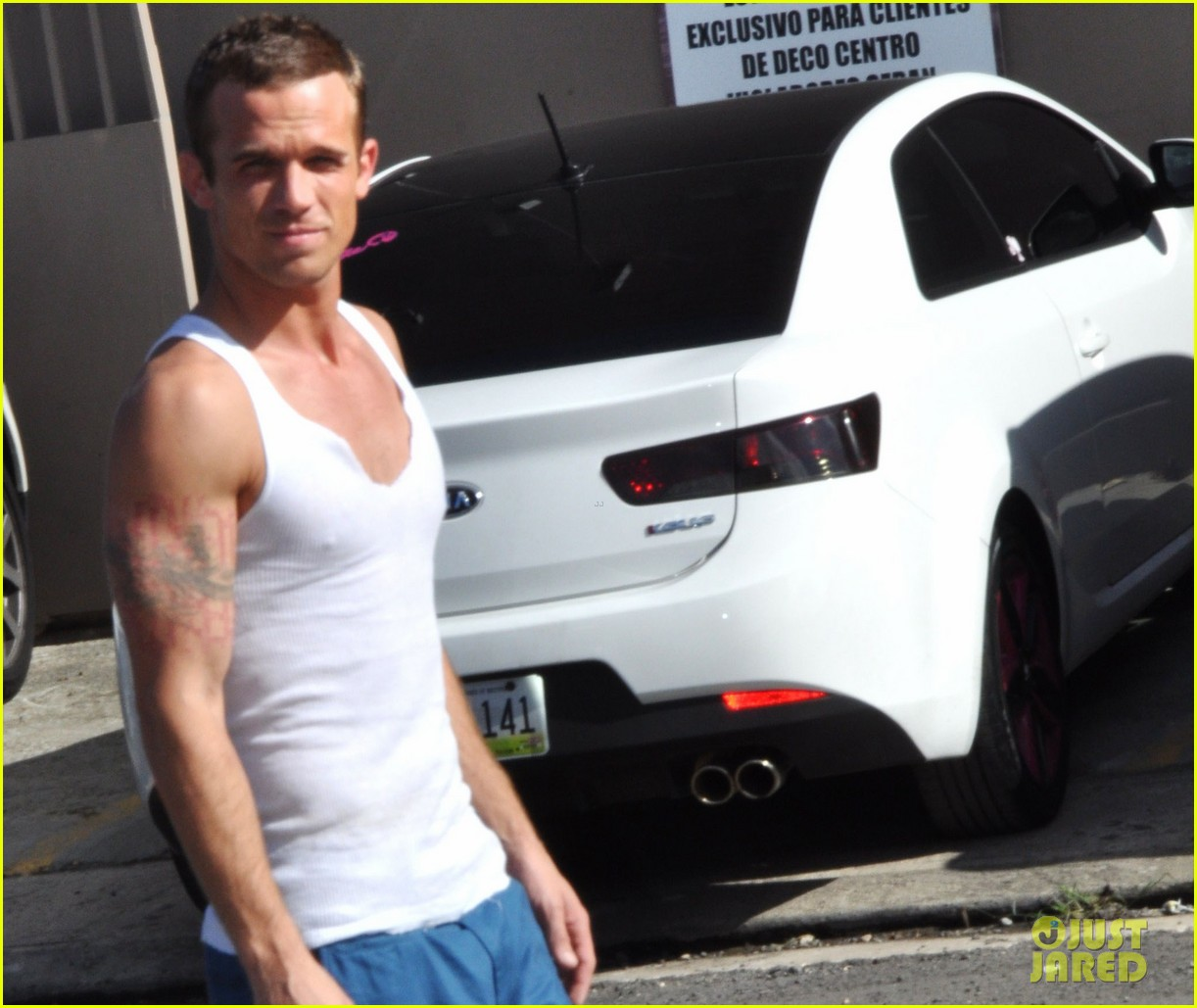 cam gigandet in the blood begins filming 04