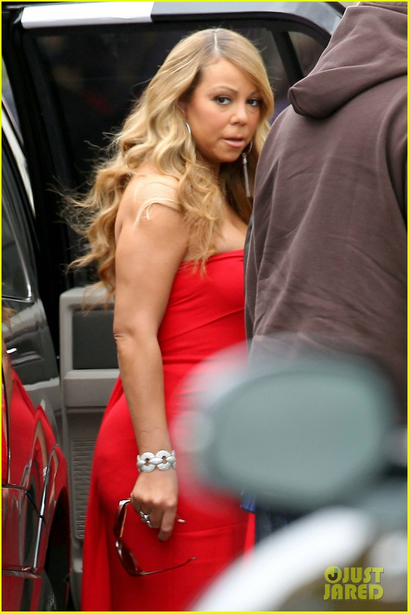 mariah carey nicki minaj american idol filming 07