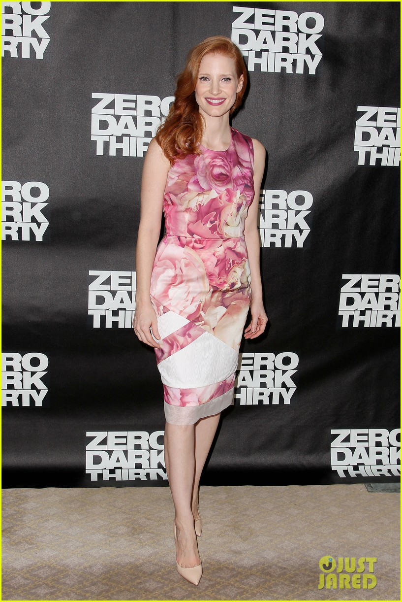 jessica chastain zero dark thirty promo in new york 01