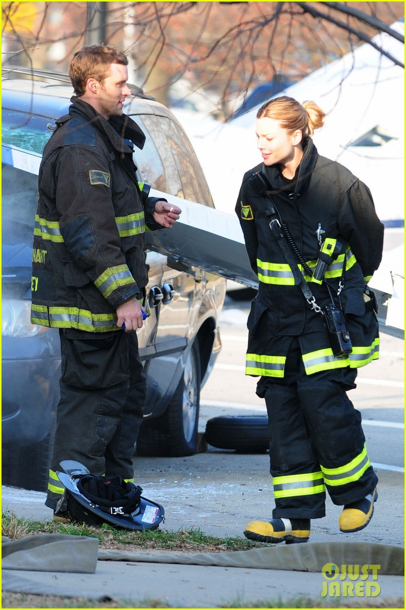 chicago fire filming 23